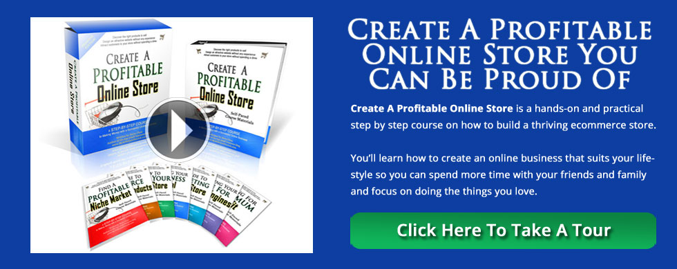 Create A Profitable Online Store